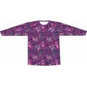 Camiseta Proteção UV Onça Apaixonada Lilás