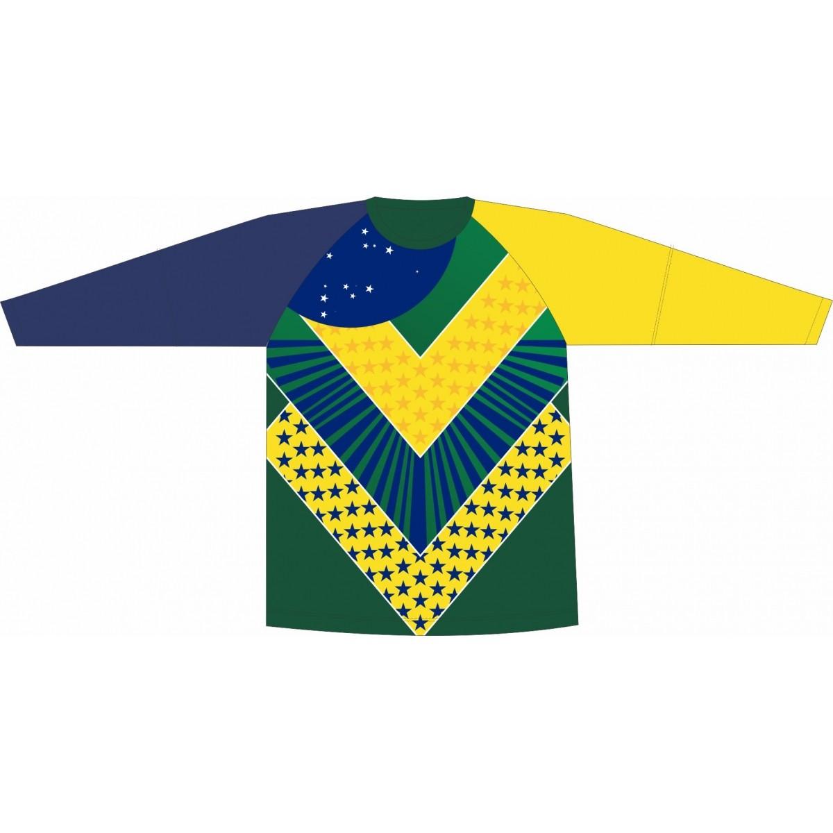 Camiseta Proteção UV Brasil