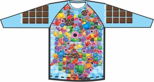 Camiseta Proteção UV Candy Colors