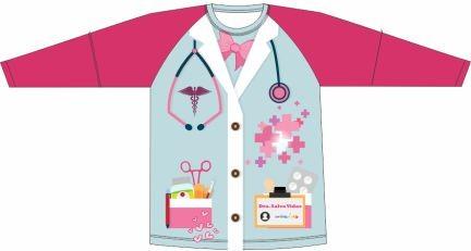Camiseta Proteção UV Doutora Colors