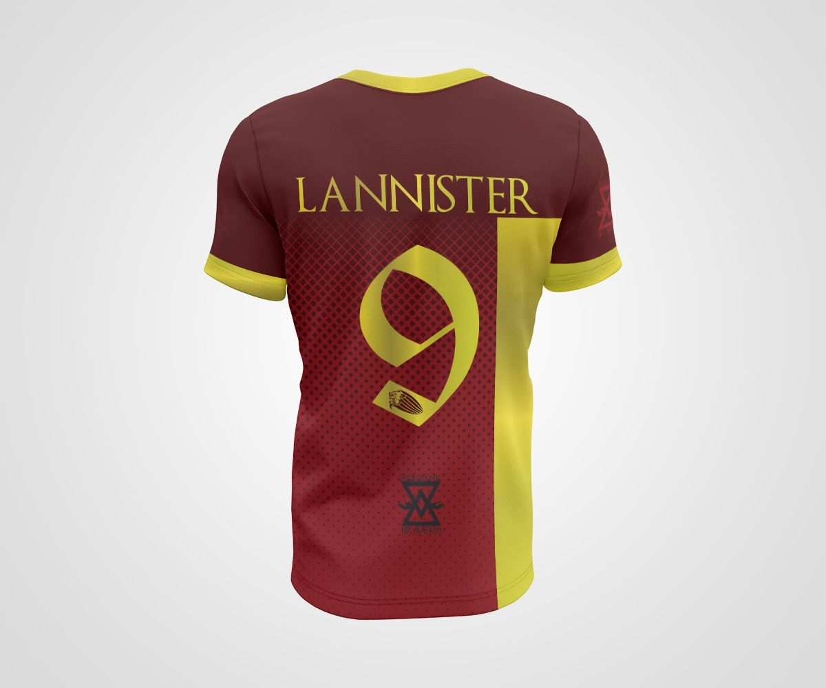 Camiseta Dry - GOT Casterly Rock Lyons - Lannister