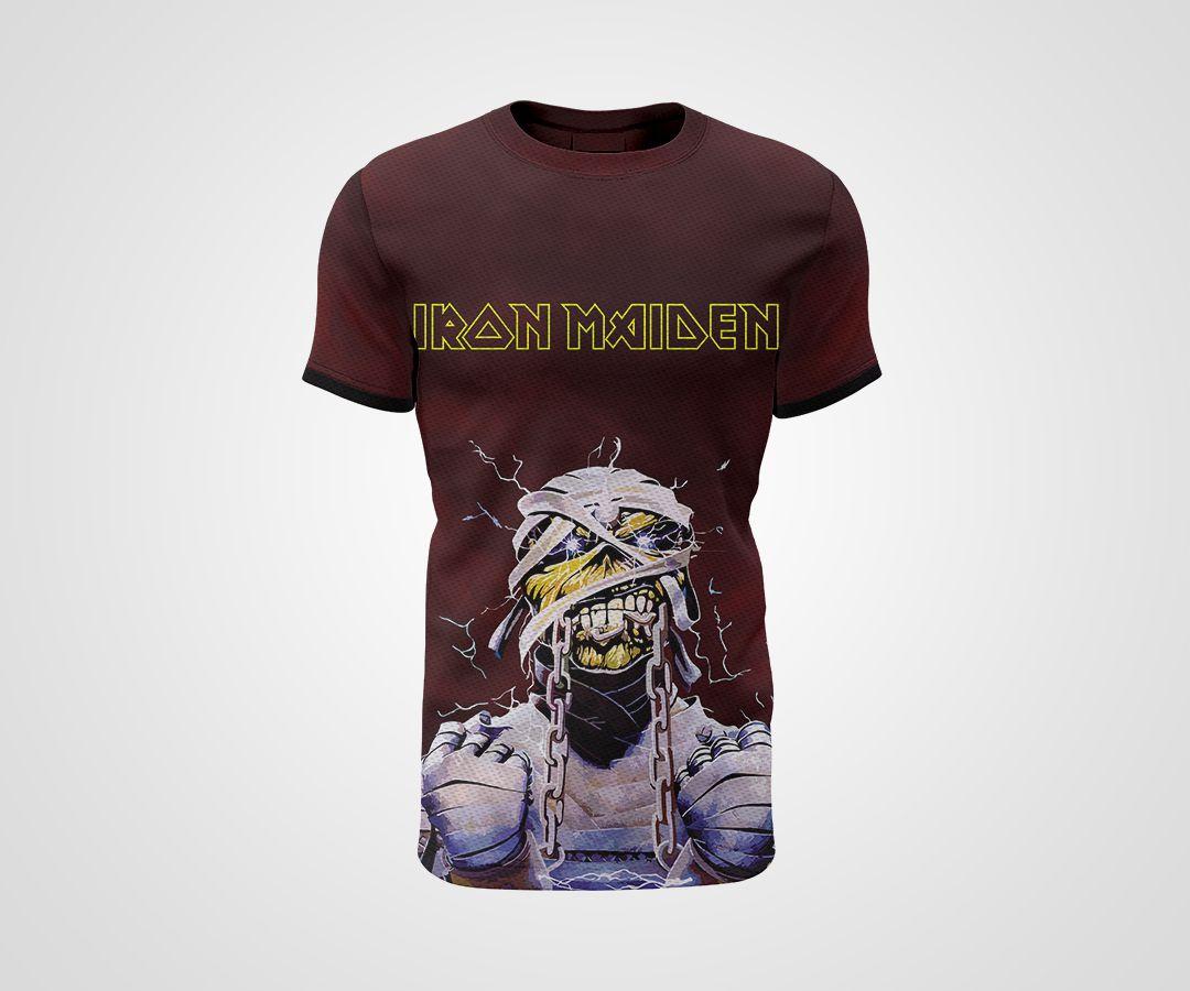 Camiseta Dry - Iron Maiden