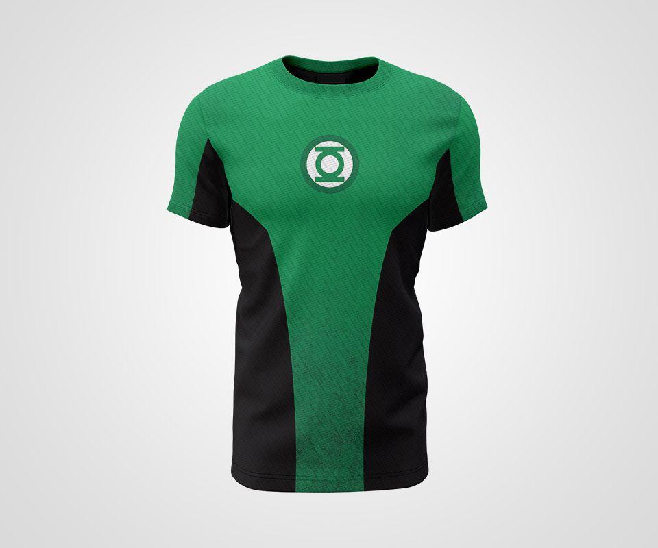 Camiseta Dry - Lanterna Verde