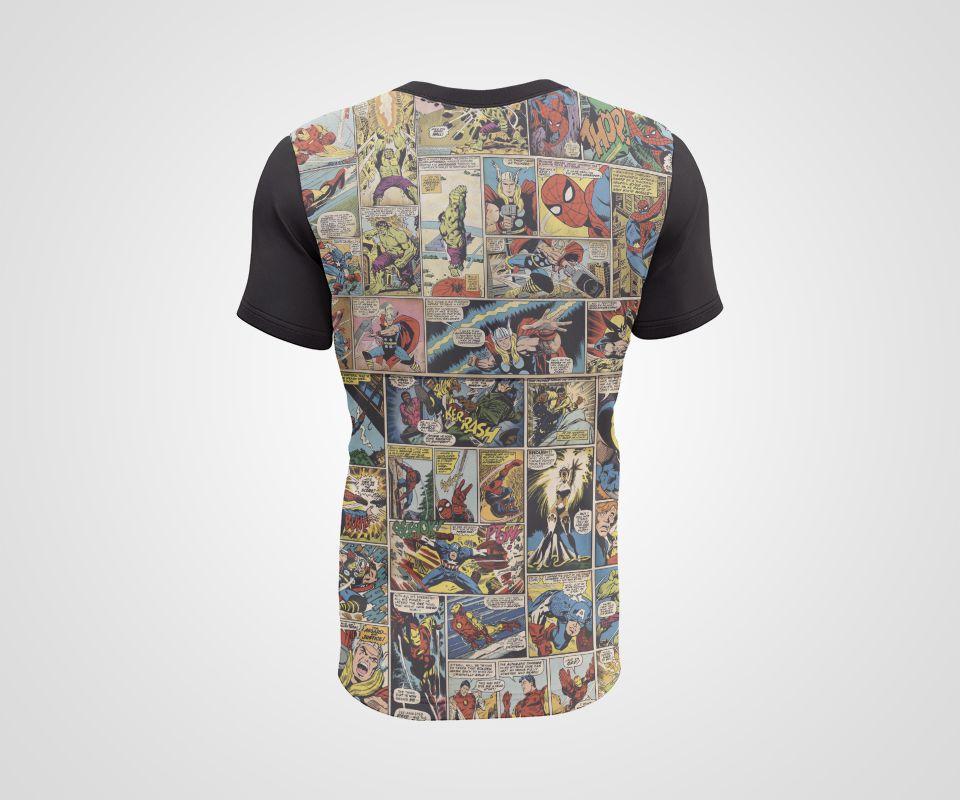 Camiseta Dry - Quadrinhos
