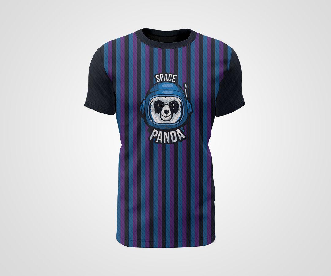 Camiseta Dry - Space Panda