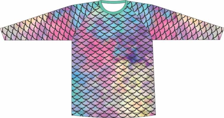 Camiseta Proteção UV Escamas