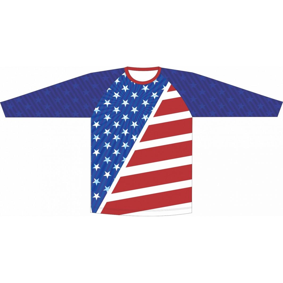 Camiseta Proteção UV EUA