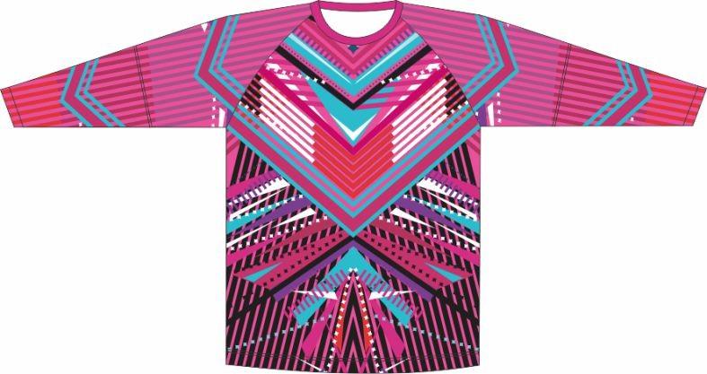 Camiseta Proteção UV Geométrico 07