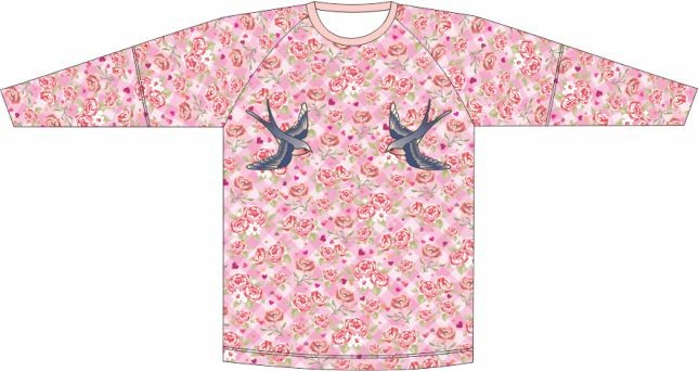 Camiseta Proteção UV Maria Clara