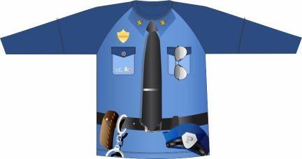 Camiseta Proteção UV Policial