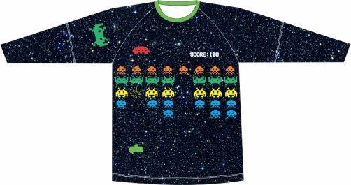 Camiseta Proteção UV Space Invaders
