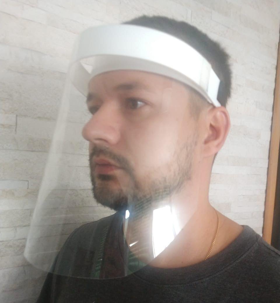 Máscara Face Shield - 1un