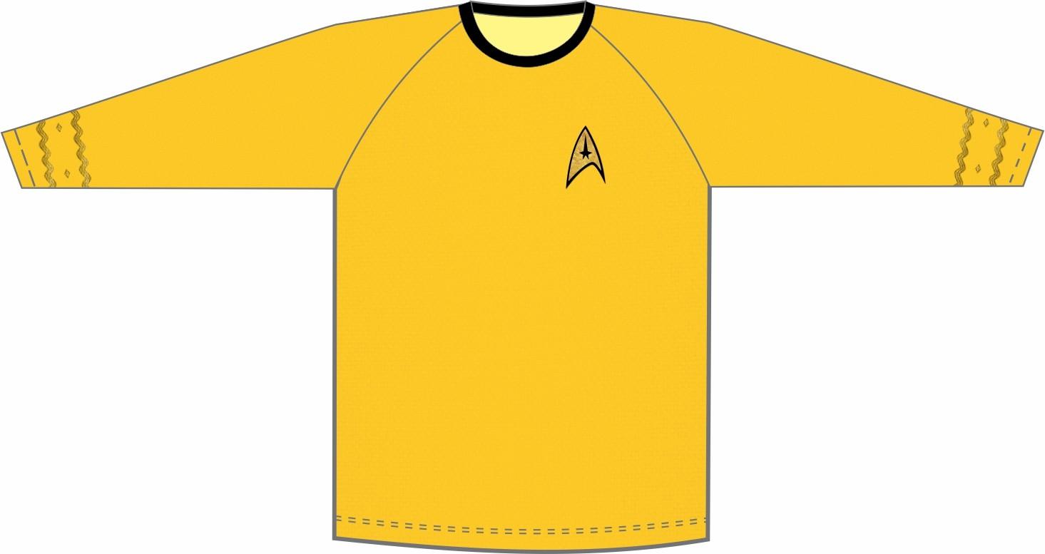 Star Trek - Jornada nas Estrelas - Uniforme Comando