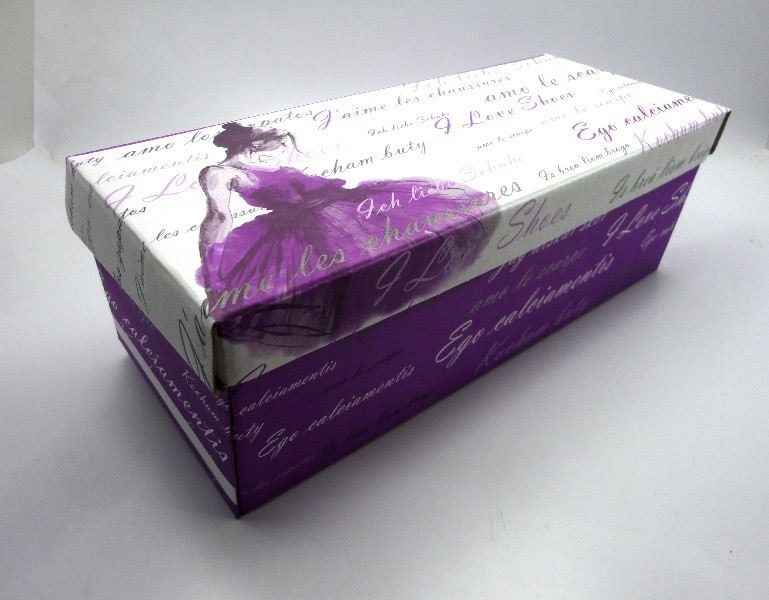 100 caixas adulto - 28 X 12 cm - Bailarina