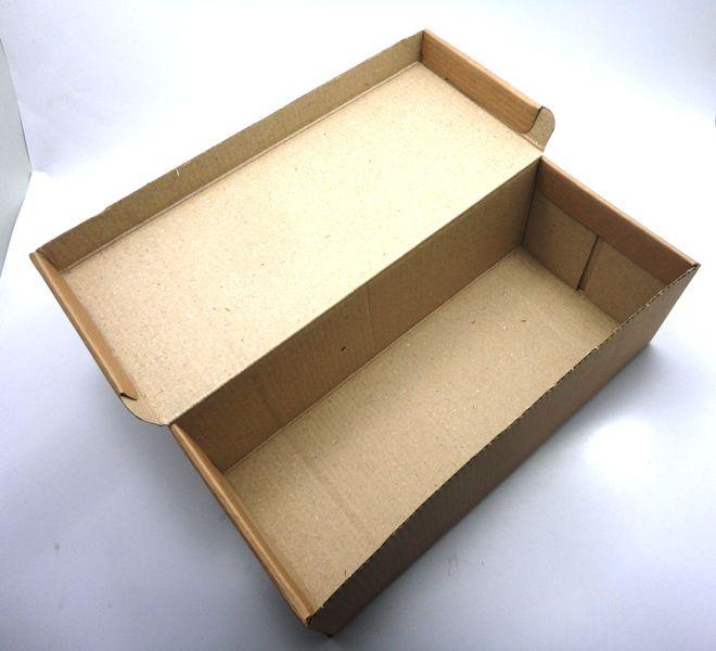 100 caixas adulto - 28 X 12 cm - Kraft Lisa