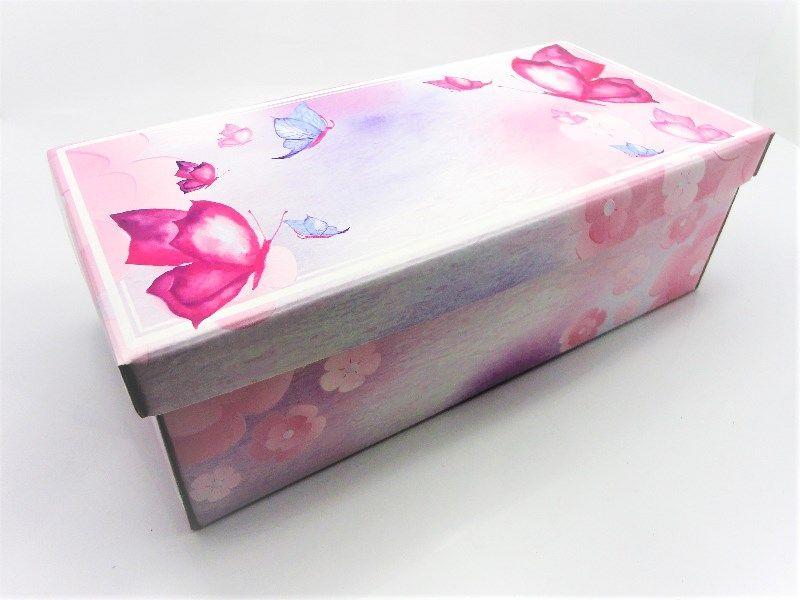 100 caixas adulto - 28 X 14 cm - Borboleta