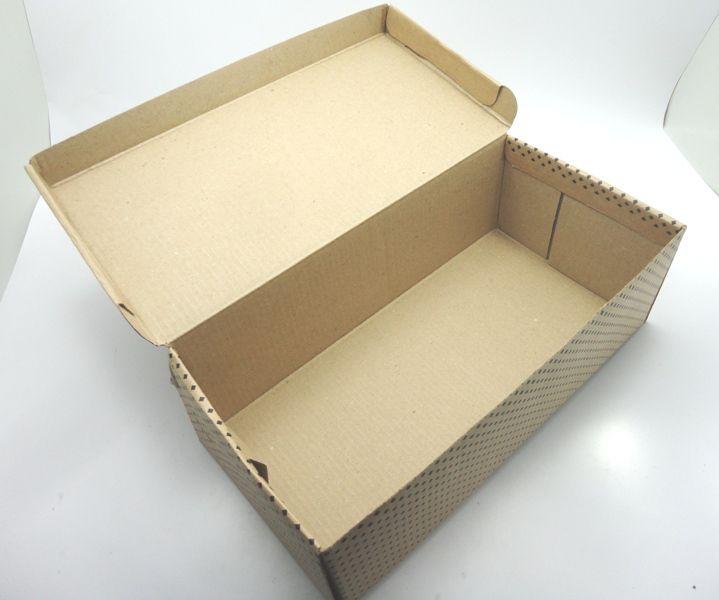 100 caixas adulto - 28 X 14 cm - Kraft Feito Amor