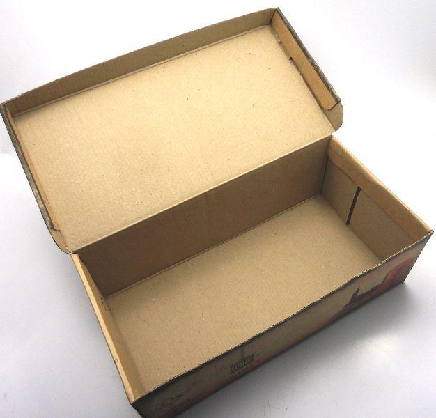 100 caixas adulto - 28 X 14 cm - Kraft London