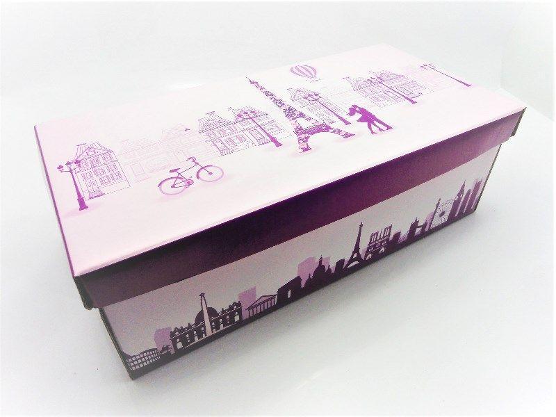 100 caixas adulto - 28 X 14 cm - Paris