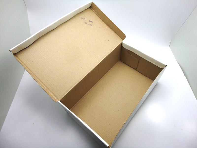 100 caixas adulto - 28 X 16 cm - Branco
