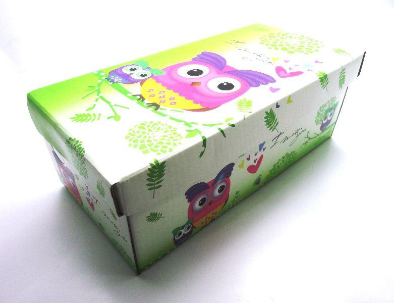 100 caixas infantil - 24 X 12 cm - Coruja