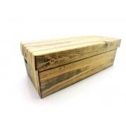 100 caixas adulto - 28 X 12 cm - Madeira