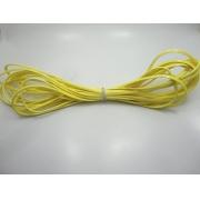 Cordão Overlock 5 mm Amarelo Verniz