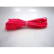 Cordão 4 mm Pink Fluorescente - Rolo 10 metros