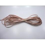 Cordão 4 mm Rose - Rolo 10 metros