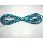 Cordão Overlock 5 mm Azul Metalizado