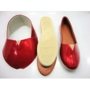Kit para fabricação de alpargatas - Verniz vermelho