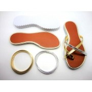 Kit para fabricação de rasteirinhas - Ref. L