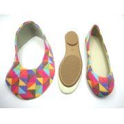 Kit para fabricação de sapatilhas infantis - Ref. 02
