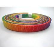 Tiras 15 mm Tie Dye - Rolo 10 metros