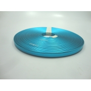 Tiras 9 mm Metalizado Azul Claro - Rolo 10 metros