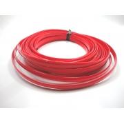 Tiras Boleadas 10 mm - Vermelho Verniz