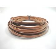 Tiras Boleadas 8 mm - Caramelo Verniz
