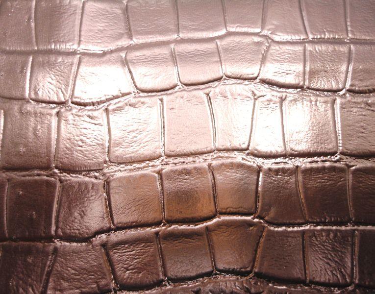 Forro Cabedal Croco Bronze