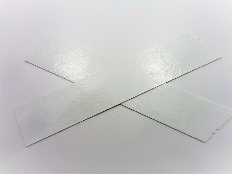 Cabedal rasteirinha X branco