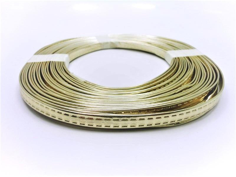 Tiras 9 mm Ouro Ligth - Rolo 10 metros