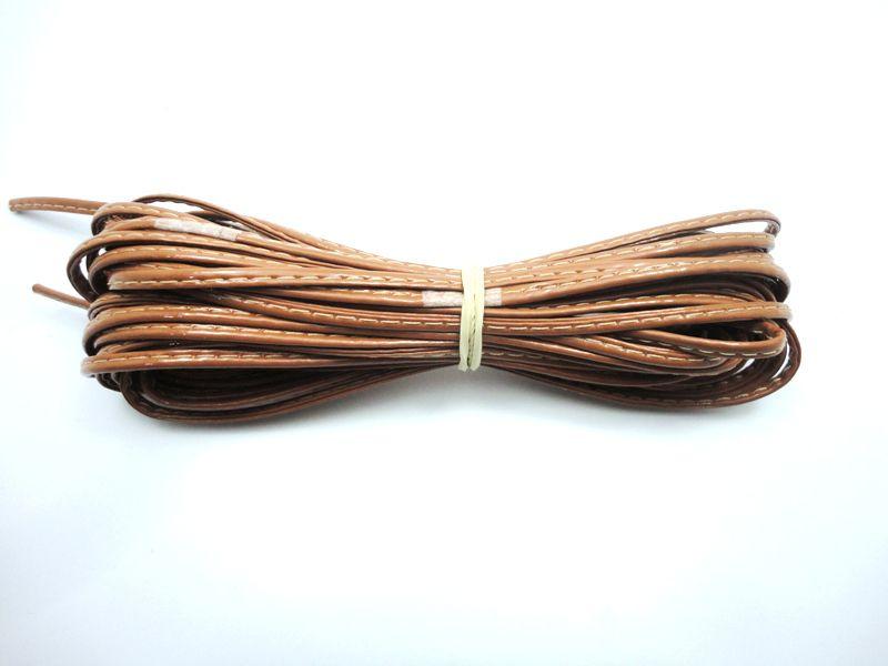 Cordão 4 mm Caramelo - Rolo 10 metros