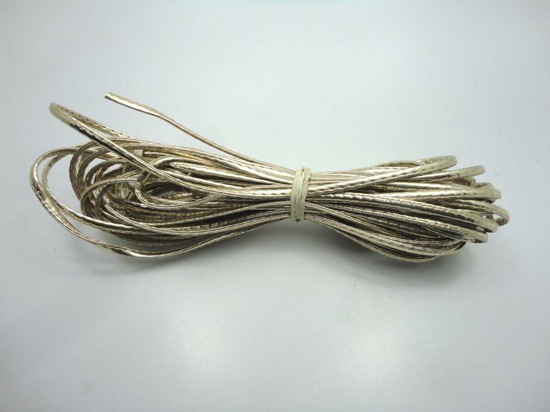 Cordão 4 mm Ouro Light - Rolo 10 metros