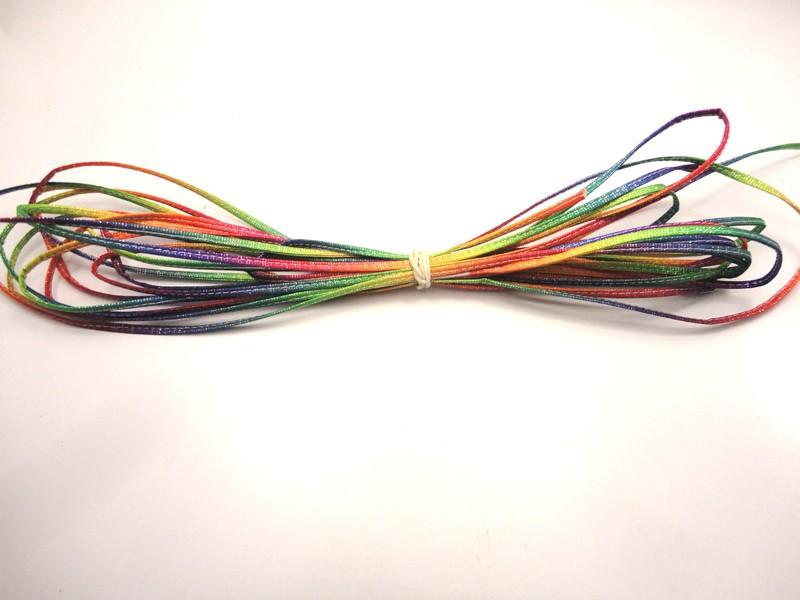 Cordão 4 mm Tie Dye - Rolo 10 metros