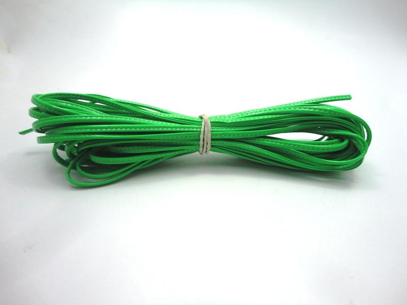 Cordão 4 mm Verde Fluorescente - Rolo 10 metros