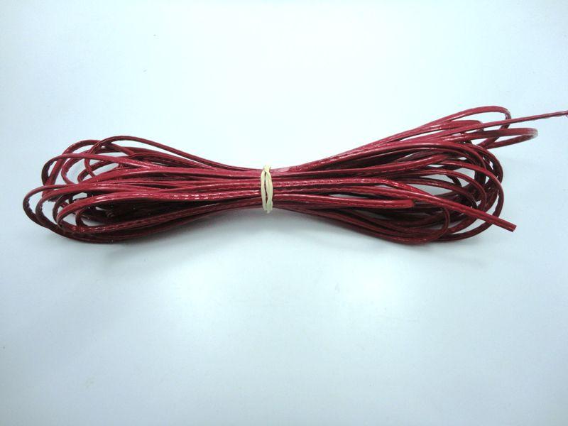 Cordão 4 mm Vermelho - Rolo 10 metros