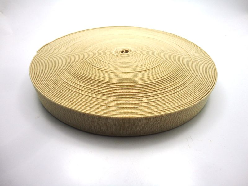 Elástico Bege 25 mm - 1 metro
