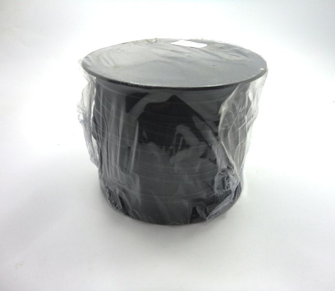 Elástico Preto 10 mm - 1 metro