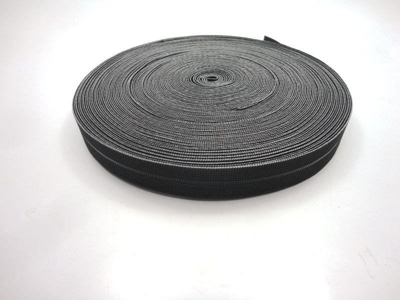 Elástico Preto 20 mm - 1 metro