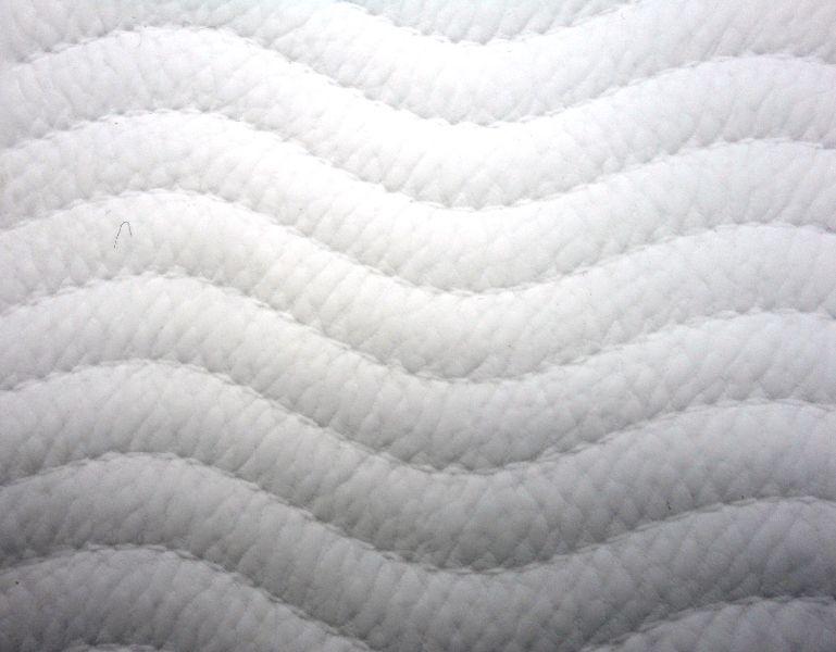 Forro Cabedal Onda Branco