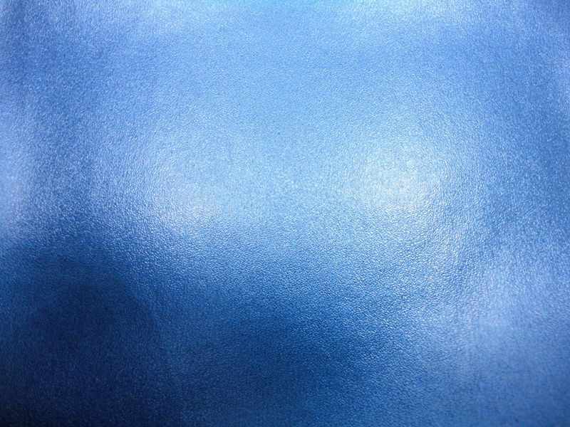 Forro Sintético Metalizado Azul